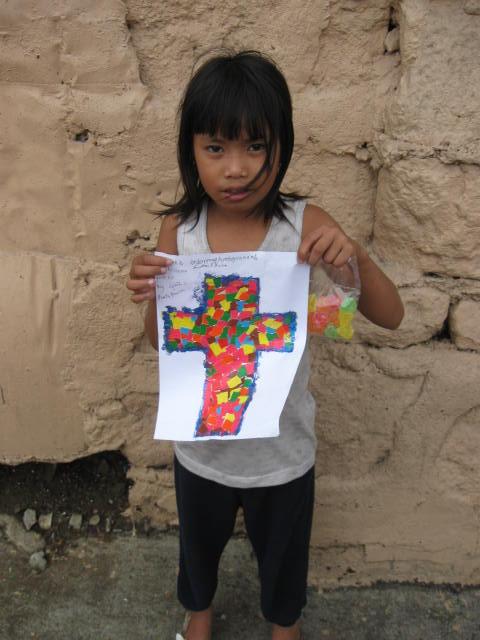 san shai and her art work
