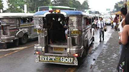 david farinas and jeepney school-in-a-cart nov 2012
