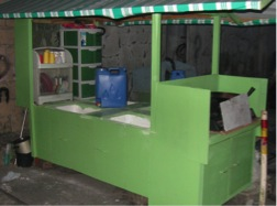 kitchen-in-a-cart in finished siac dec 2013