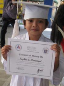sophia armengol graduation apri l2014