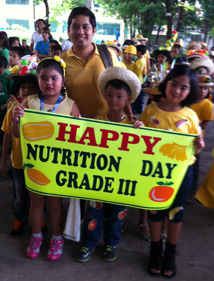 Nutrition Day the Band played for school SIAC Oct 2015