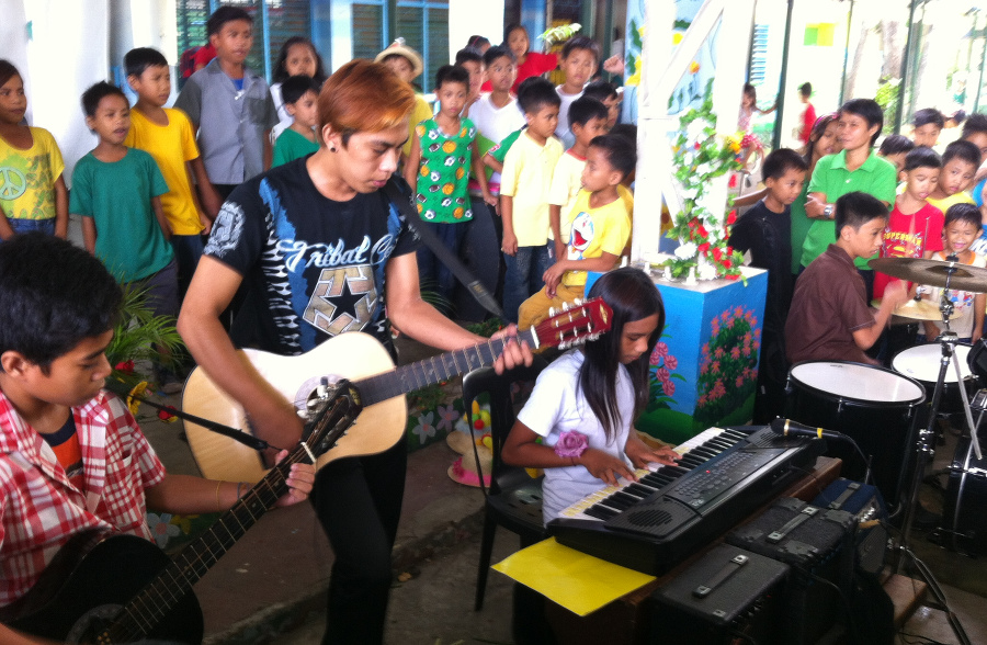 Nutrition Day Band playing SIAC Oct 2015