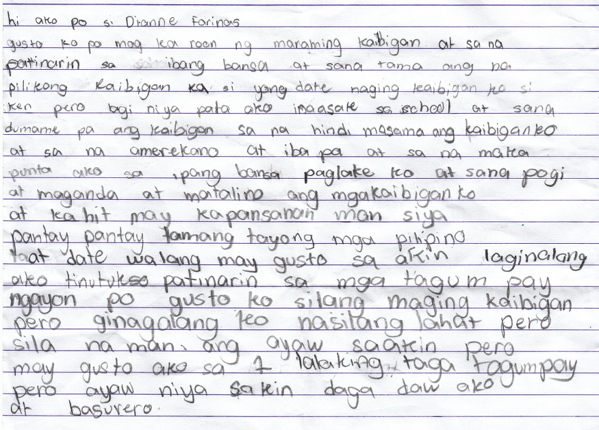 Dianne Farinas Letter to Share Jan 2016
