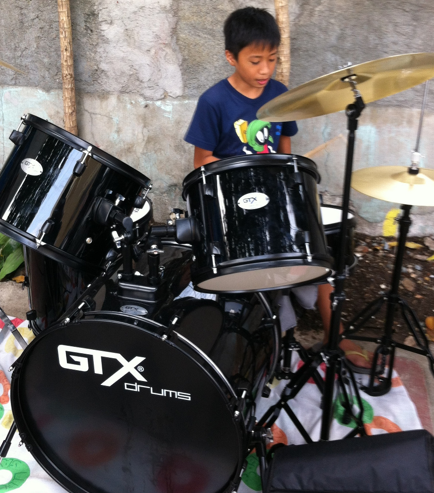 Stephano Abalayam on advanced drums CM SIAC Jan 2016