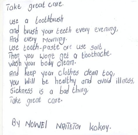 noel naitetoi take great care namelok jan 2017
