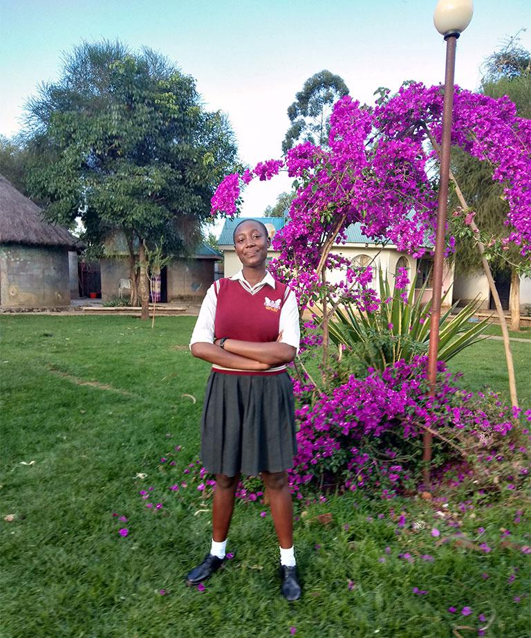Margaret Wanjoru -Lenana girls school - Kenya - Lift the Lid