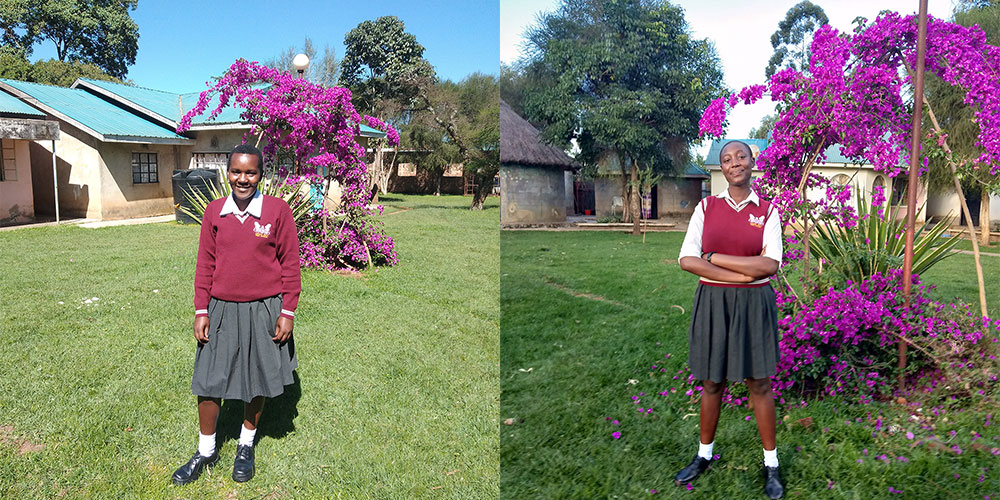 Two First Place Winners of Lenana's 7th Annual Writing Competition - Lift the Lid