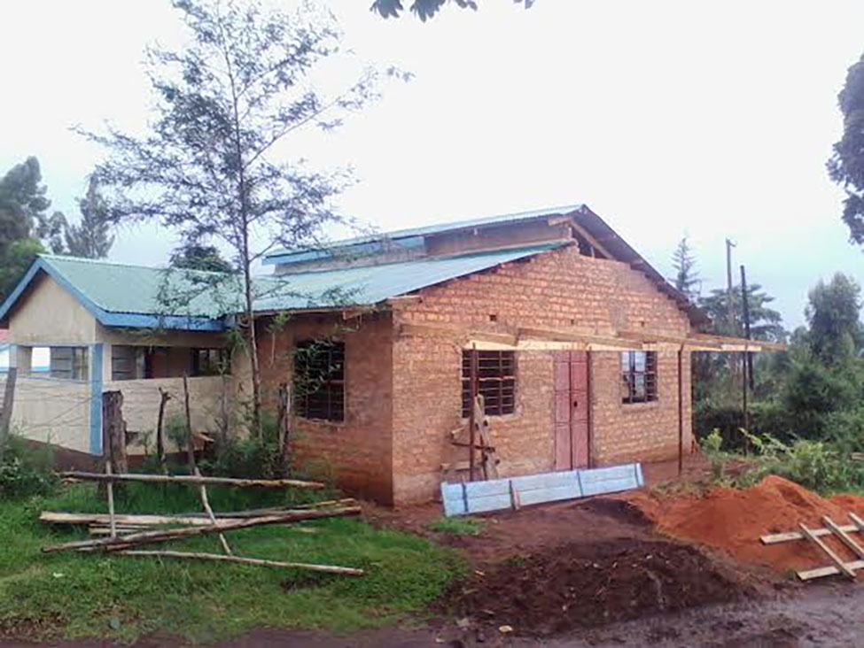 tailoring shop nearly done mogonjet secondary school - Kenya